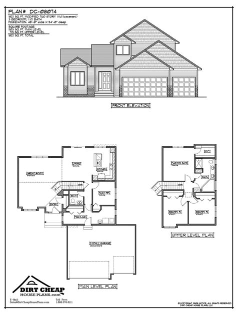inspiring cheap home plans 8 two story house plans with