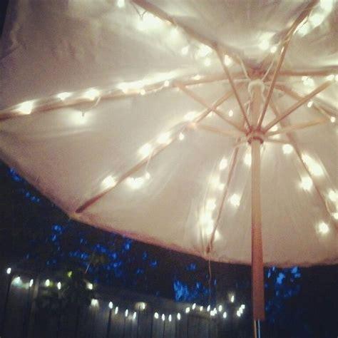 Patio Umbrella String Lights 78 Best Ideas About Patio Umbrella Lights On Backyard String Lights Patio Lighting
