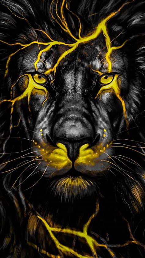 lion yellow wallpaper  wildwolf    zedge