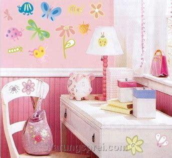 Diskon Babybee Sprei Motif Pink 130 X 70 wall sticker bugs flowers uk 70x50 warungsprei