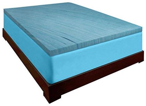 American Made Memory Foam Mattress by Dreamdna Gel Infused 3 Inch Thick Visco Elastic Memory