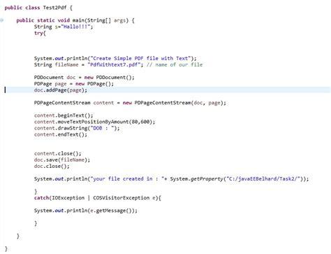 template code generator java code to generate pdf in java animationtracker