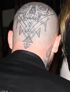 see cameron diazs terrifying back tattoo in new trailer benji madden tattoos www pixshark com images galleries