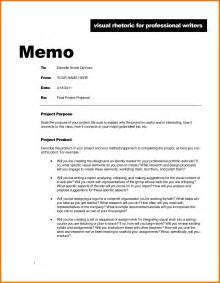 cover memo template 5 memorandum exles assistant cover letter