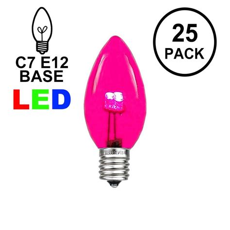 c7 replacement led lights buy led c7 glass replacemnt bulbs novelty lights inc