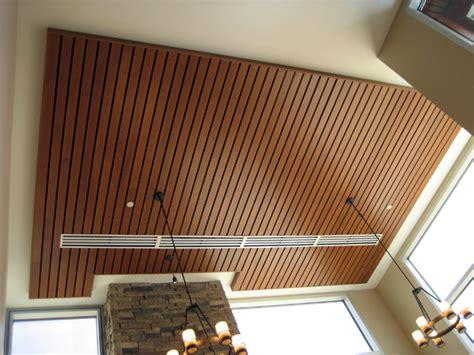 Rulon Linear Wood Ceiling by Wood Ceilings Heartland Acoustics Interiors