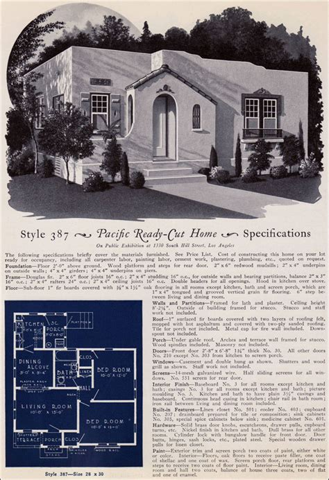 Bungalow Style Homes Interior 1925 Eclectic Spanish Style California Cottage Pacific