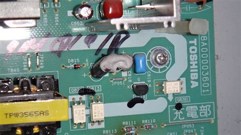toshiba tv capacitor problem i a problem with a toshiba 42hl167 lcd tv one day when