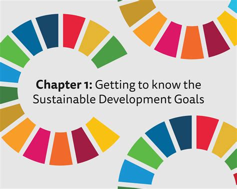 Sustainable Development chapter 1 getting to the sustainable development goals