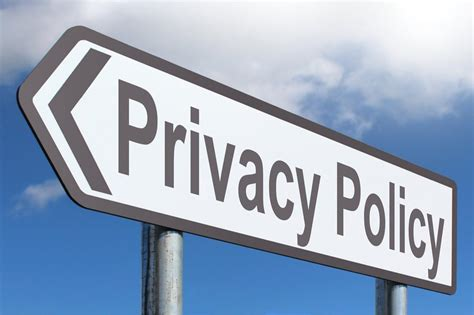 Privacy Policy by Privacy Policy Highway Sign Image