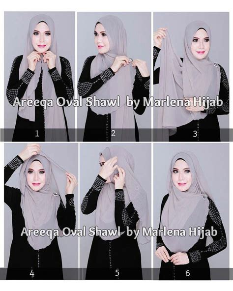 tutorial hijab vasmina simple 30 best hijab tutorial images on pinterest head scarfs