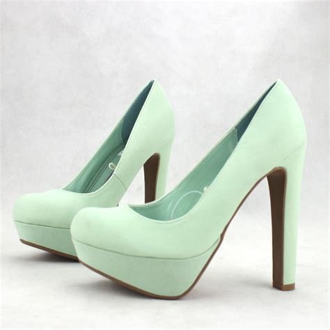 mint green high heel shoes selling 2013 mint green s shoes shallow