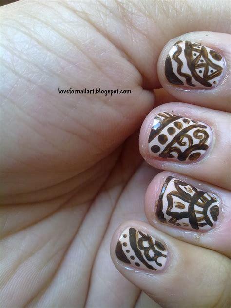 henna design nail art love for nail art mehndi henna nail art