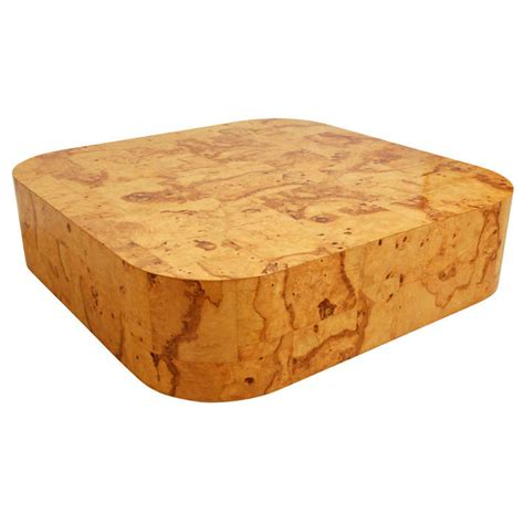 burl coffee table olive burl coffee table by paul at 1stdibs