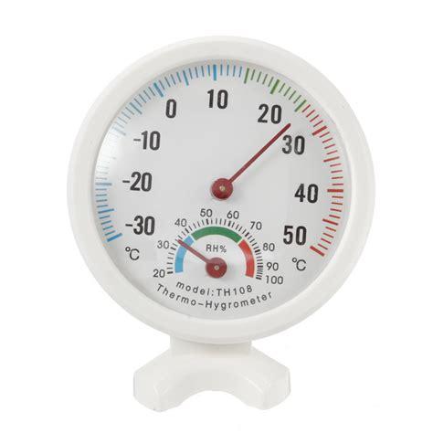 Termometer Analog 35 55 176 c mini indoor analog temperature humidity meter thermometer hygrometer alex nld