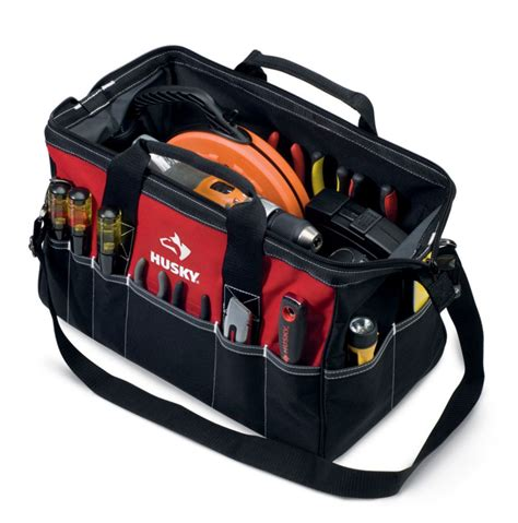 Home Depot Tool Bags by Husky 18 Inch Large Tool Bag The Home Depot Canada