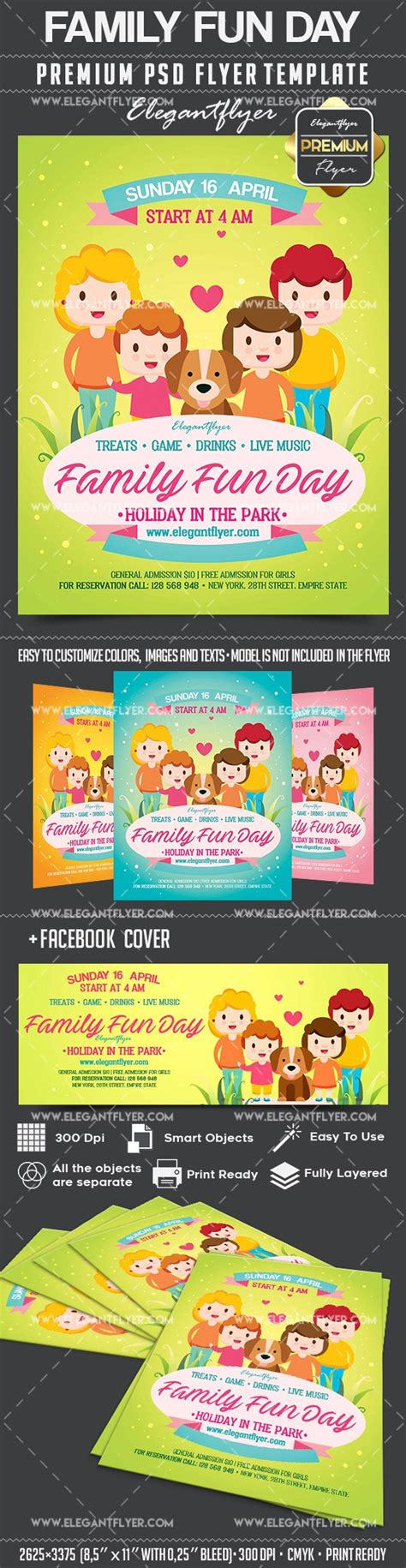family flyer template family day flyer psd template by elegantflyer