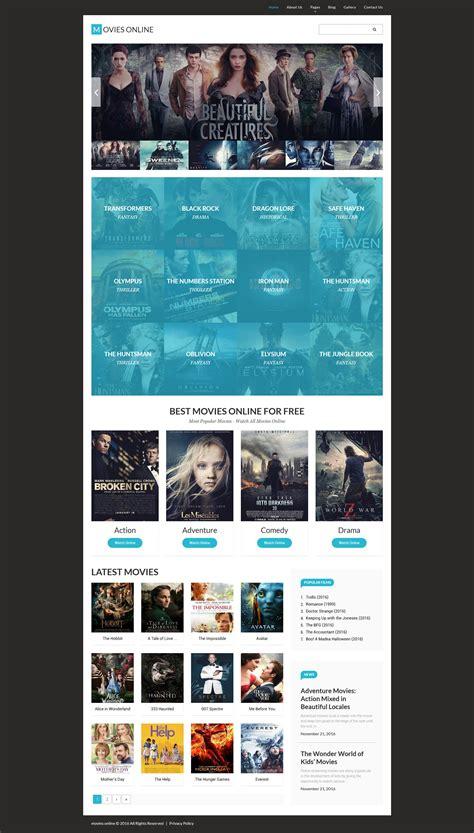 template joomla movie movies joomla template