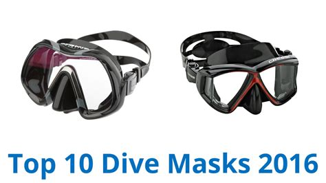 dive masks 10 best dive masks 2016