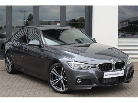 Bmw F30 3 Series Mineral Grey 1 18 Diecast Model Car By Paragon 97025 used bmw 3 series saloon 2 0td 320d m sport 190bhp for