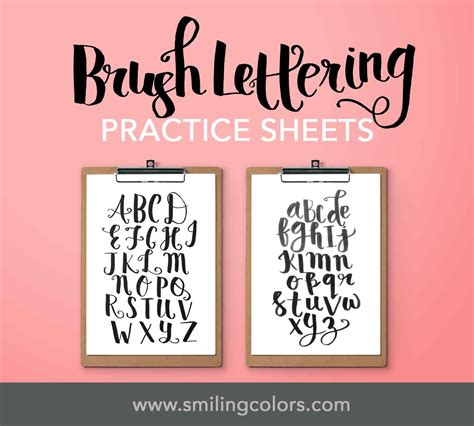 lettering tutorial video brush lettering tutorial for beginners basic techniques video
