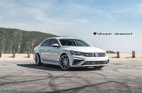 white volkswagen passat black rims bold volkswagen passat on custom wheels carid com gallery