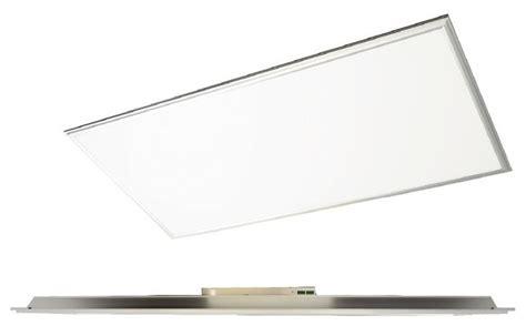 Led Flat Panel Lighting Fixture Maxlite Direct Lit 2 X 4 Led Flat Panel Fixture Cool Aluminum Finish Kitchen Island