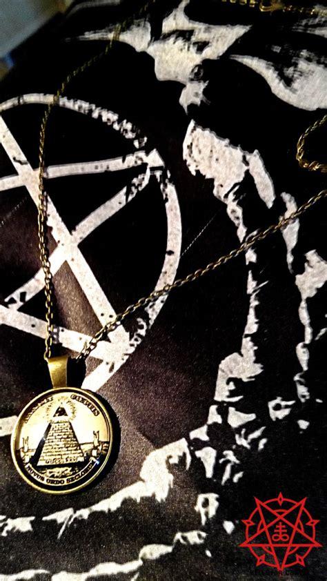 illuminati ritual illuminati masonic occult ritual pendant necklace