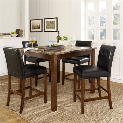 Walmart Dining Room Sets Kitchen Dining Furniture Walmart Room Table Sets Picture Clearance 7 On