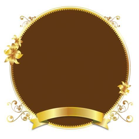 frame design gold gold design vector golden frame background illustration