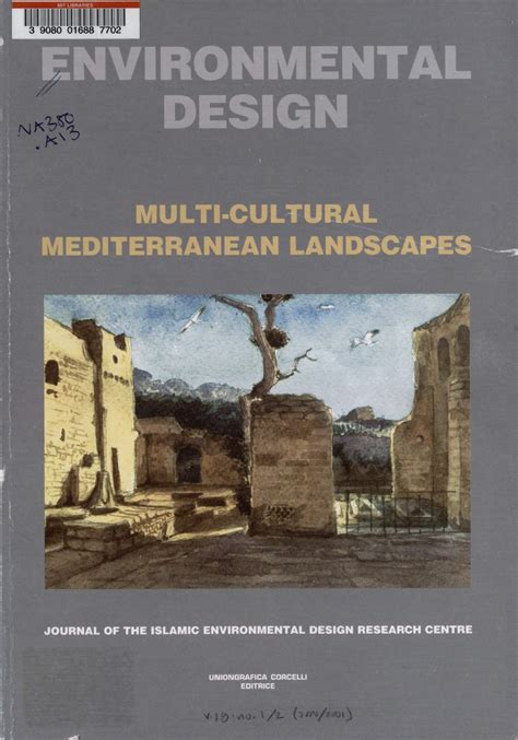 design for environment journal environmental design multi cultural mediterranean