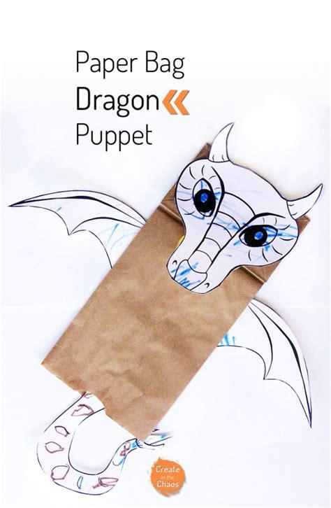 pattern for paper bag puppet paper bag dragon puppet paper bag puppets paper bags