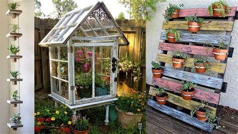 imagenes de jardines con reciclado cinco eco ideas para tener un jard 237 n m 225 s bonito
