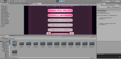 unity tutorial free download using unity to make 2d games the interface tutorial