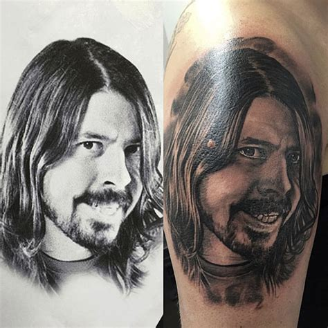 dave grohl tattoo removal dave grohl by tamas dikac tribal