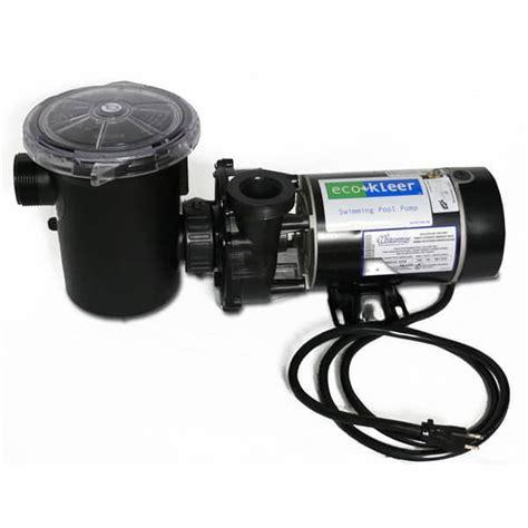 Backyard Adventures Price List Eco Kleer 1 5 Hp Pool Pump Amp Motor Waterway