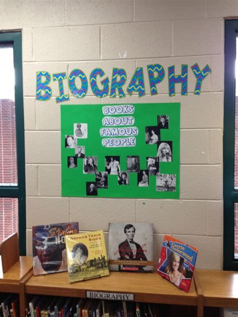 biography display ideas biography display for the library pinterest