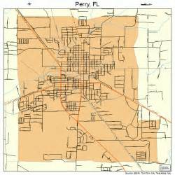 perry map perry florida map 1256150