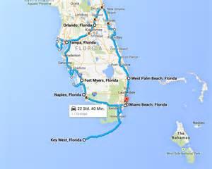 usa urlaub florida road trip termin steht und