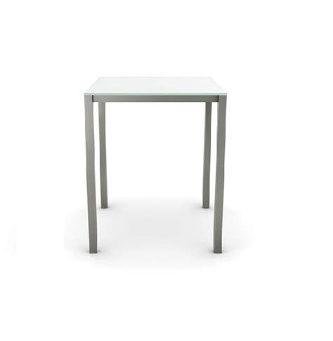pub table base carbon glass pub table base by amisco