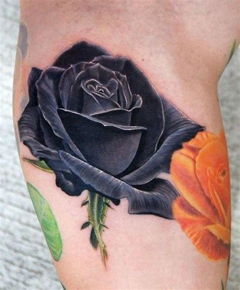 dark red rose tattoos 25 best black tattoos ideas on