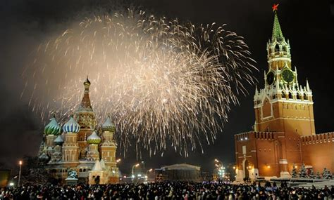 grand party of 2018 new years eve in moscow