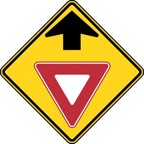 best yield yield sign color clipart best