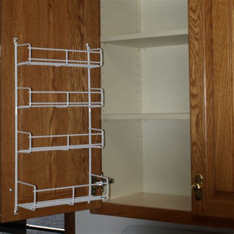 spice rack for cabinet door kitchen cabinet door spice rack home design