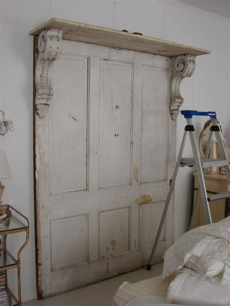 using an old door as a headboard old pocket door headboard my home sweet home pinterest