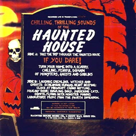 ghost house music haunted house haunted house music co 1985 cult of the great pumpkin