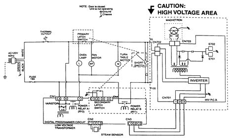 microwave oven schematic diagram 301 moved permanently