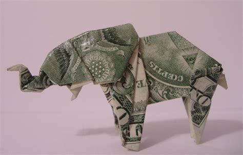 Origami Elephant Tutorial - origami elephant tutorial dollar bill best elephant 2017