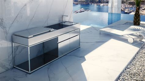 Kitchen Design With Island Cocoa Professional Barbecue Island Fesfoc