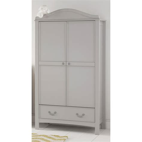 gray wardrobe toulouse double wardrobe little arrivals